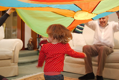 More parachute fun