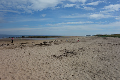 A day on the beach?  In some lovely Scottish sunshine?  Excellent!